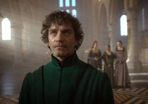 James Frain as the Earl of Warwick in episode 4 of The White Queen