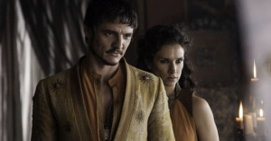 Pedro-Pascal-and-Indira-Varma-in-Game-of-Thrones-season-4-episode-1