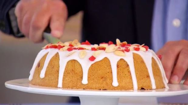 The Great British Bakeoff Mary Berry S Cherry Cake The Armchair Anglophile