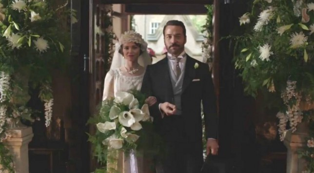 Jeremy Piven as Harry Selfridge in series 3 episode 1 of Mr Selfridge