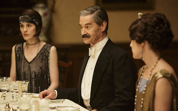 A formal occasion: Rupert Frazer as Neville Chamberlain
