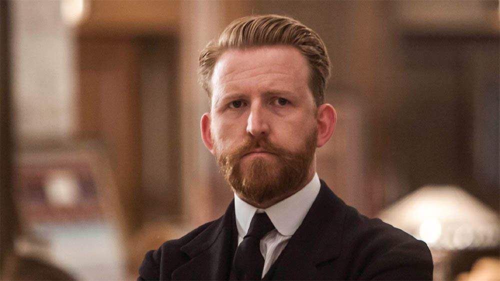 Tom Goodman-Hill as Mr Grove on Mr Selfridge