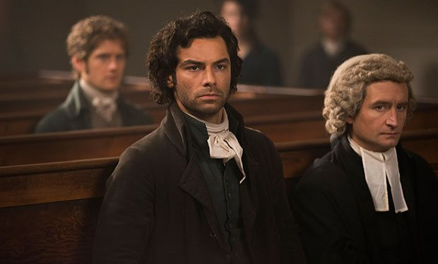 Aiden Turner as Ross Poldark in series 2 episode 2 of Poldark