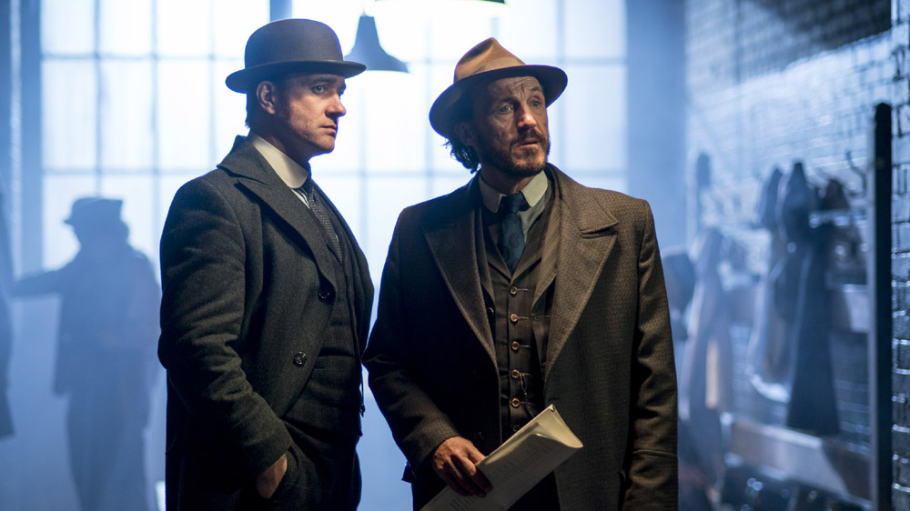 Reid and Drake investigate a murder in season 4 episode 5 of Ripper Street