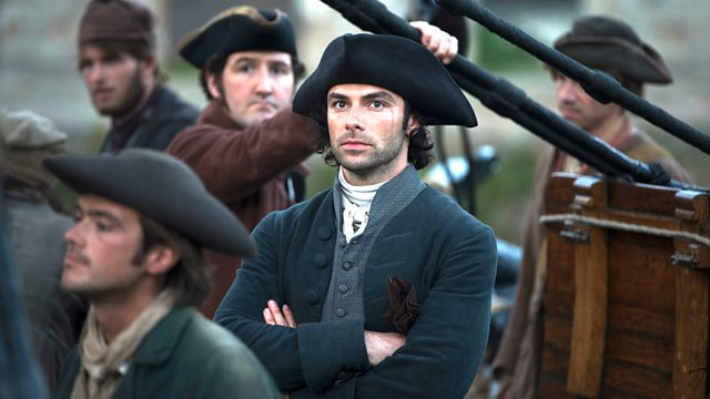 Aiden Turner as Ross Poldark in season 2 episode 7 of Poldark