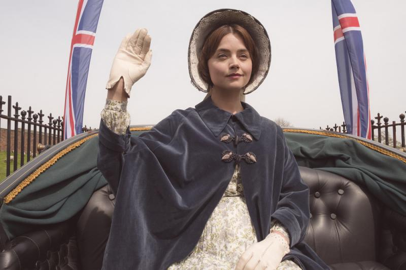 Jenna Coleman as Victoria in episode 8