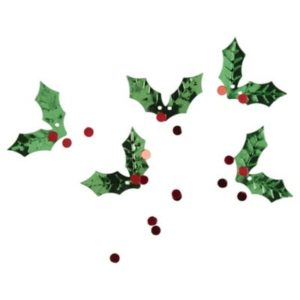 holly scatter leaves