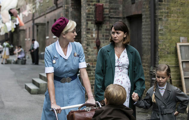 Trixie speaks with Marnie in Call the Midwife season 6 episode 4