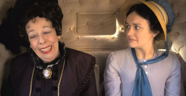 Becky and Miss Crawley head to London in Vanity Fair Episode 2