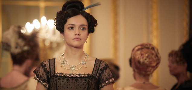Olivia Cooke as Becky Sharpe in Vanity Fair Episode 6