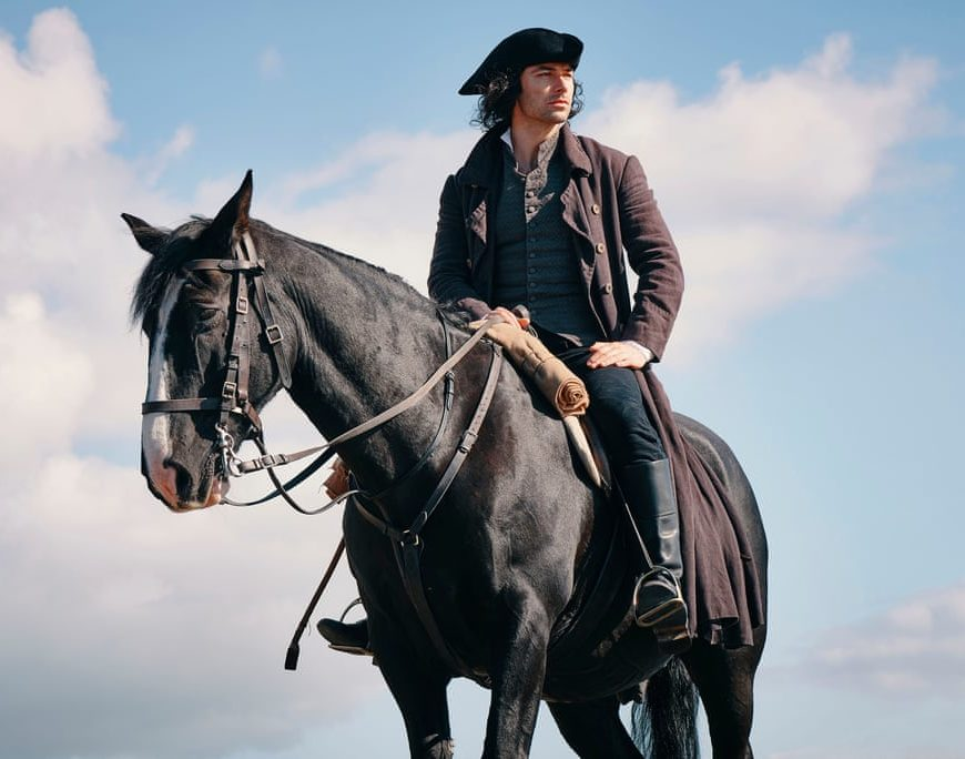 Ross Poldark on his horse